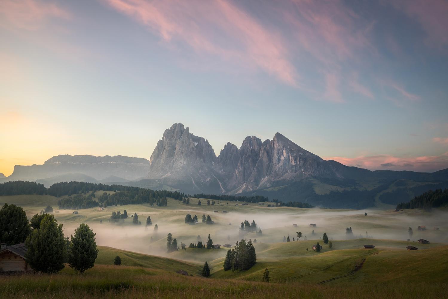 Alpe di Siusi by Shumon Saito