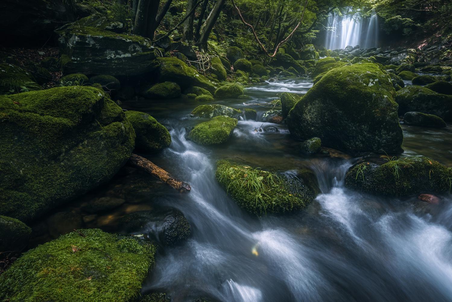 Otome Falls by Shumon Saito