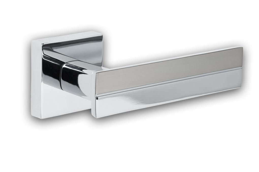 Stainless steel doorhandle by Richard Zeinstra