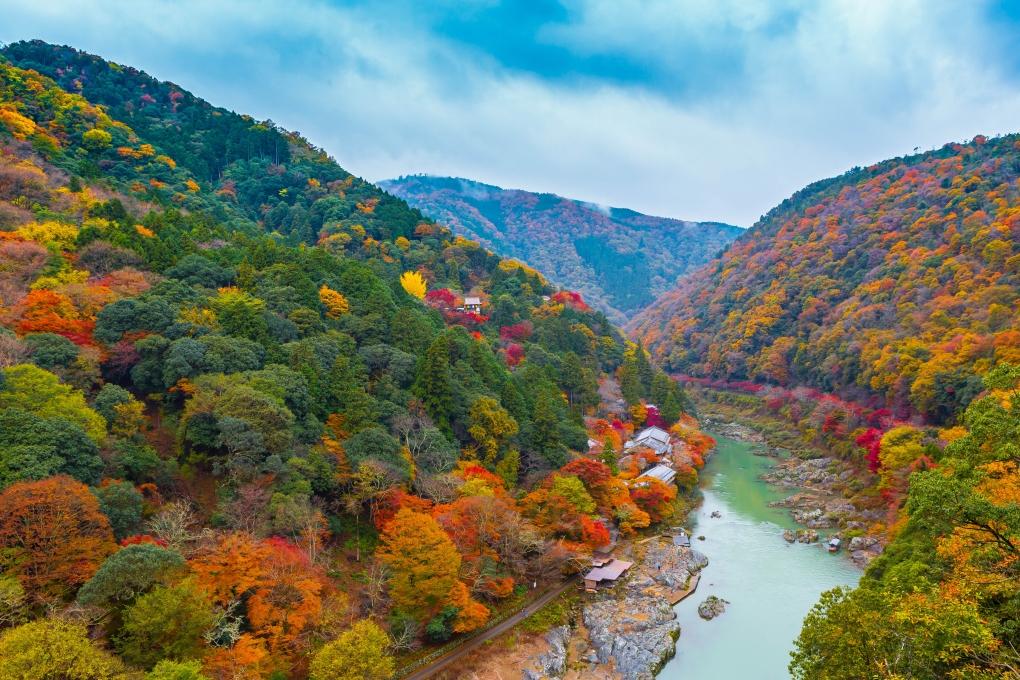 Arashiyama, Kyoto, Japan by Andrew Nguyen