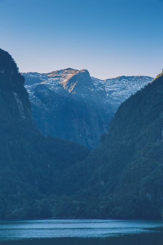 doubtful Sound, New Zealand by Andrew Nguyen