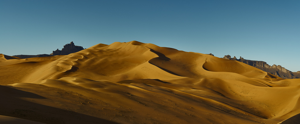 Dunes of Gold by Mohammed El Mhedwi