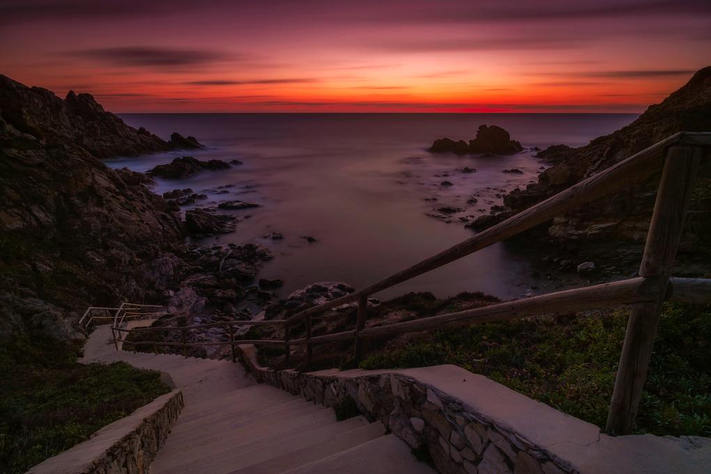 Seawards...  by LUCA SANNA