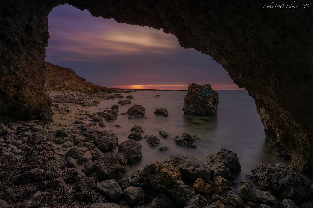 View From The Cave by LUCA SANNA