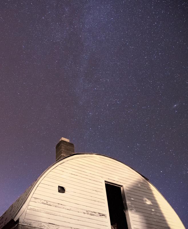 Stars over Barn by Cole Bielecki