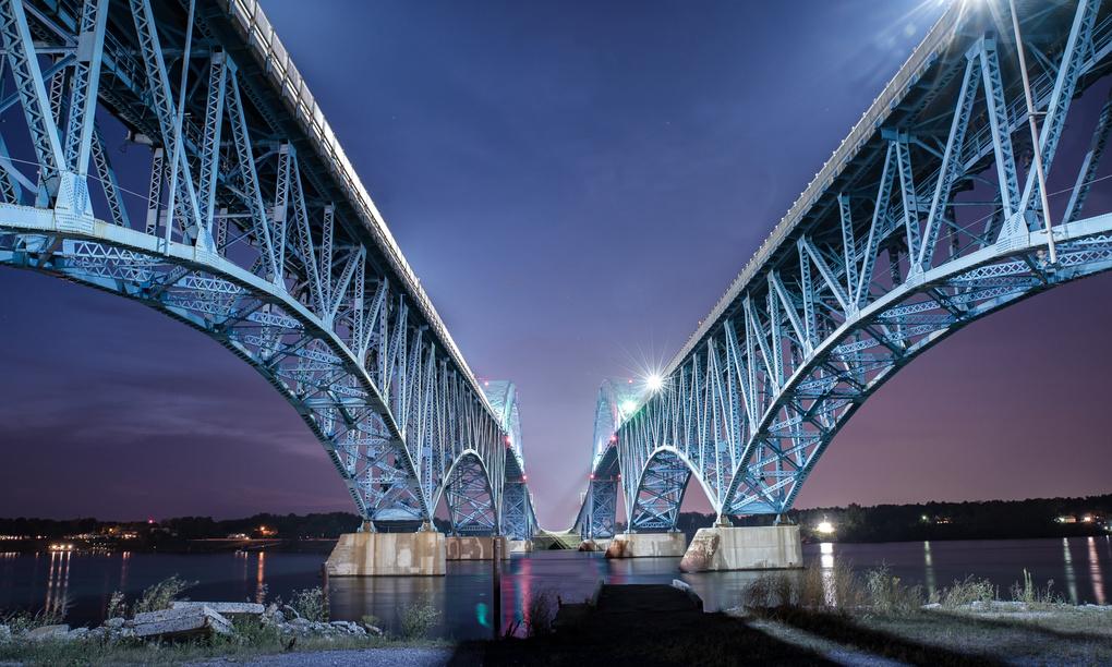 Grand Island Bridges by Cole Bielecki