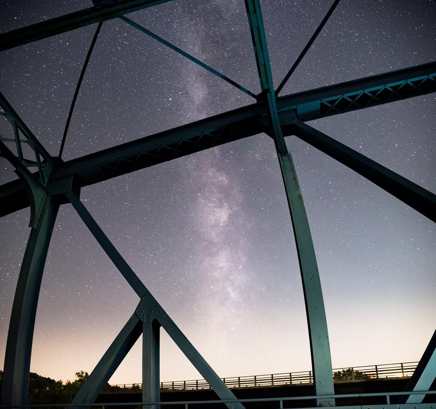 Milky Bridge by Cole Bielecki