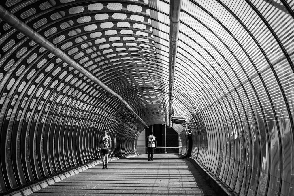 Poplar Station Footbridge by Jose Valera