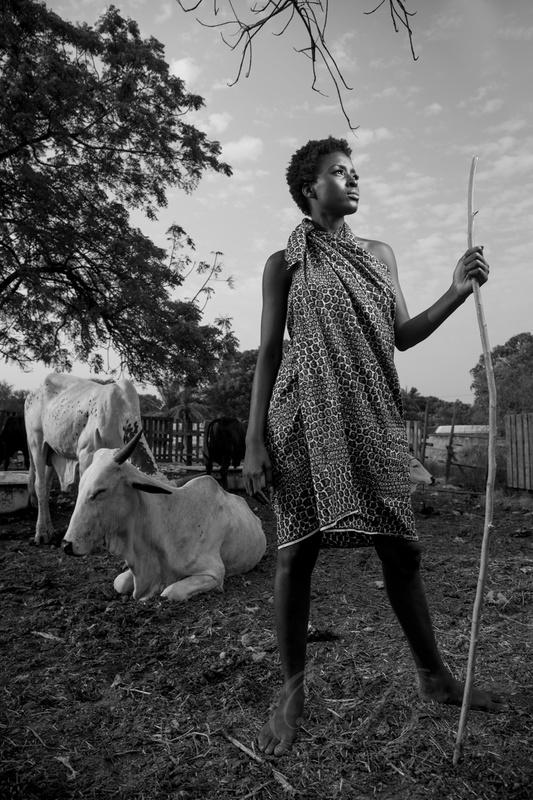 Herdsgirl... by Ben Bond