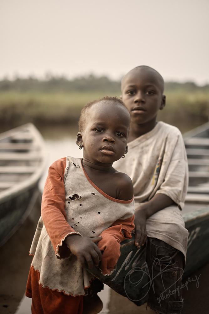 Nzulezu... by Ben Bond