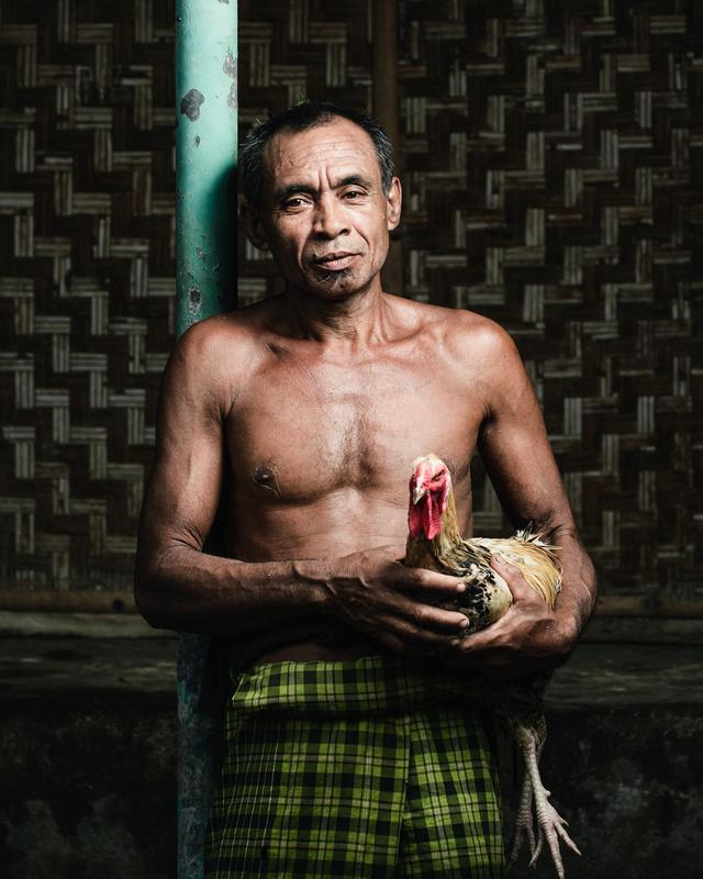 Indonesian Farm Worker by Joel Boily