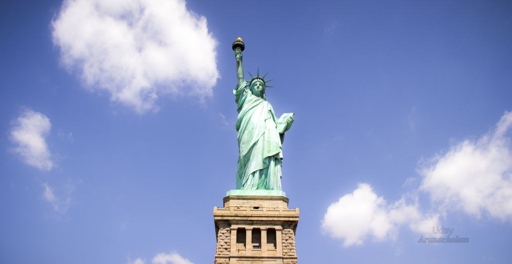 Statue Of Liberty by Uday Arunachalam