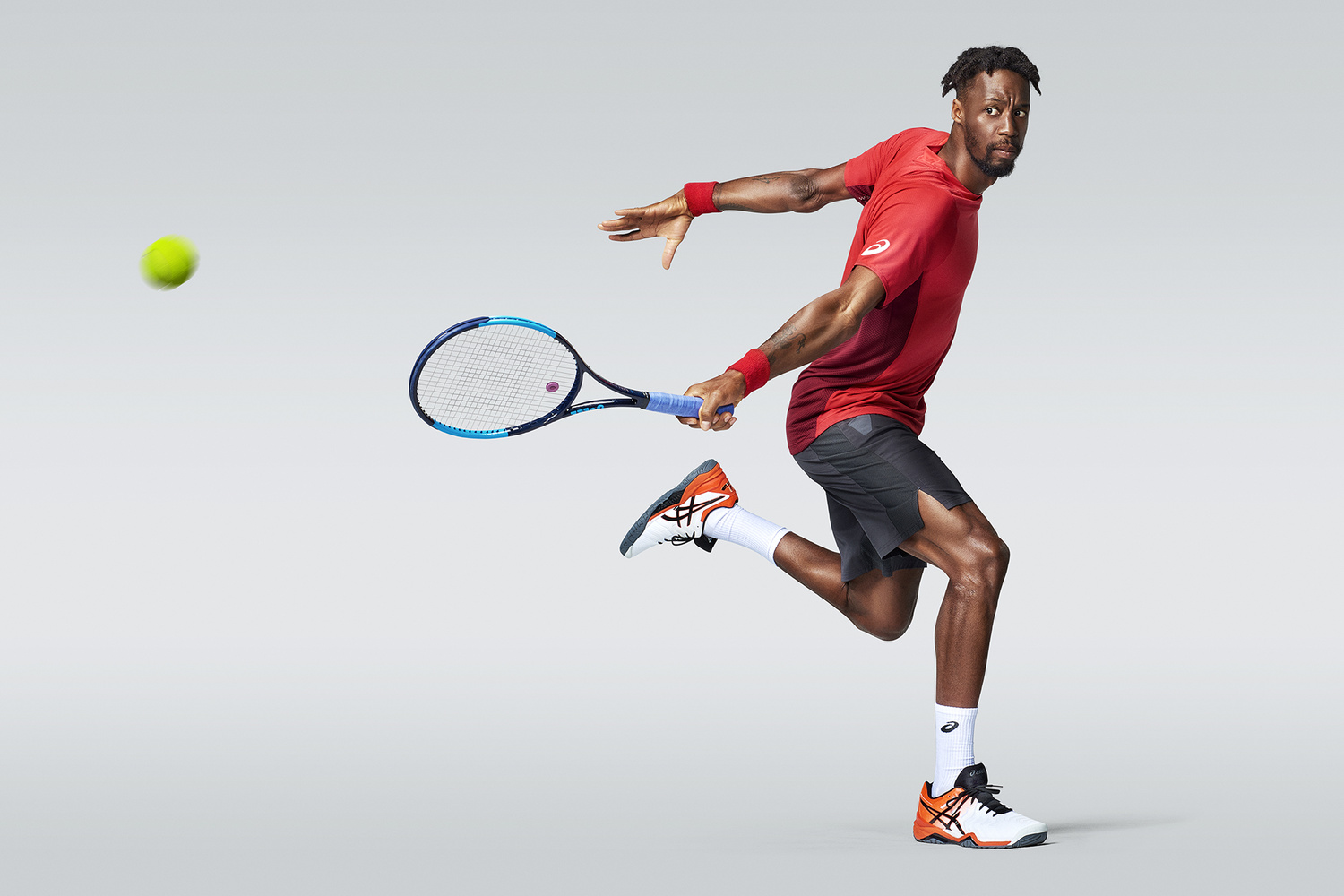 Gael Monfils Tennis Athlete by Smith And Daniels