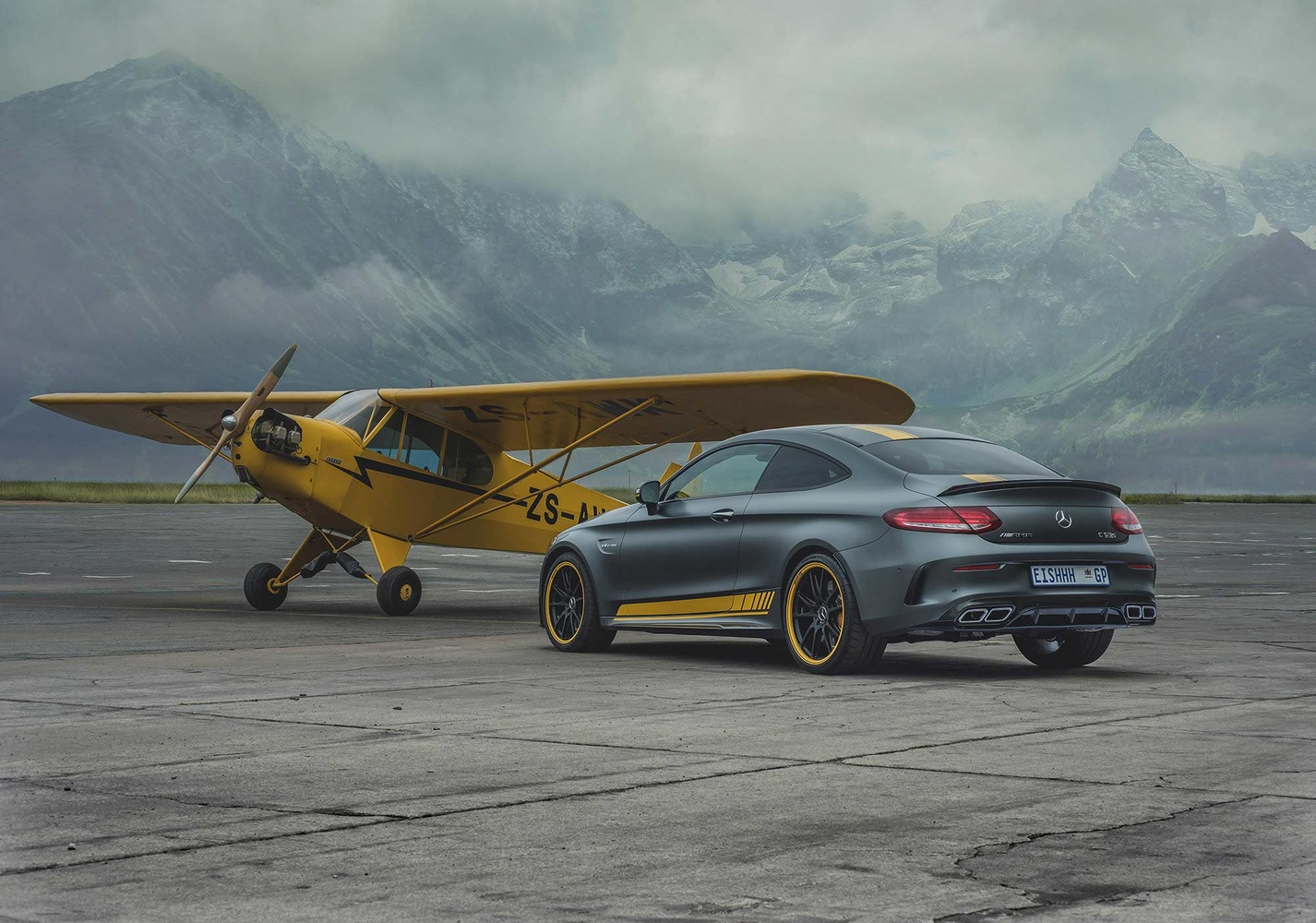 Mercedes-Benz C-Class C63 S coupe Edition by Smith And Daniels
