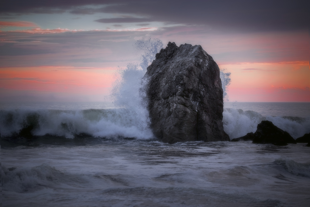 Crashing Wave by michael kinnaman