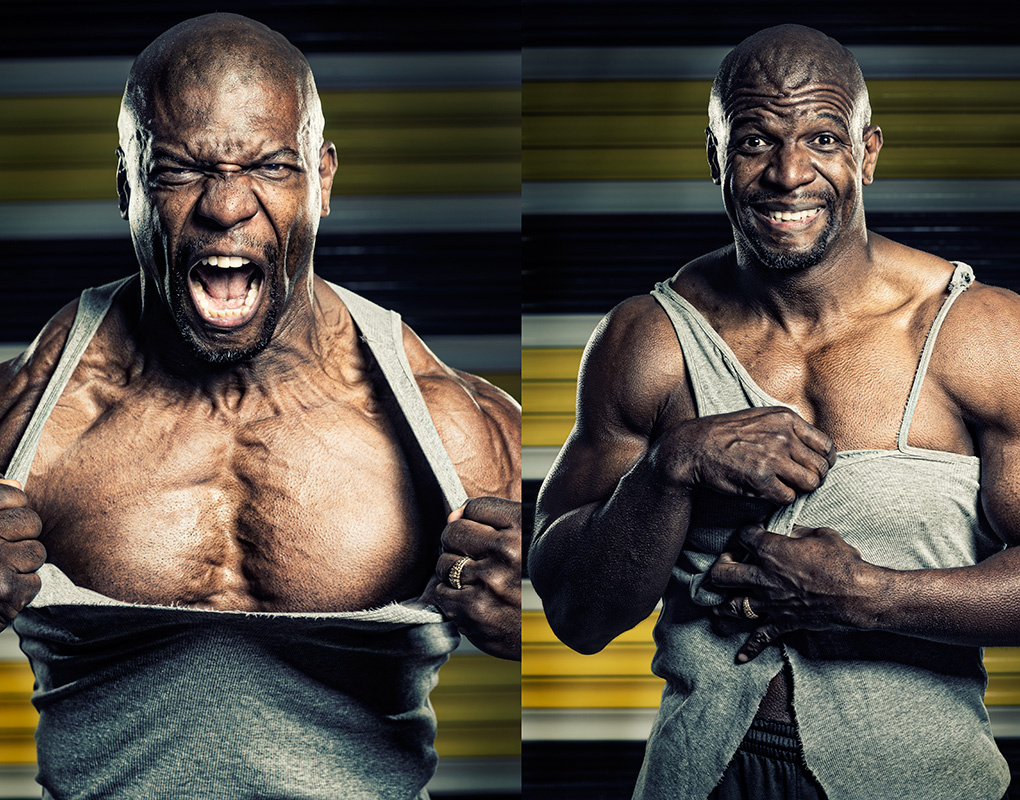 Terry Crews by Tom Miles