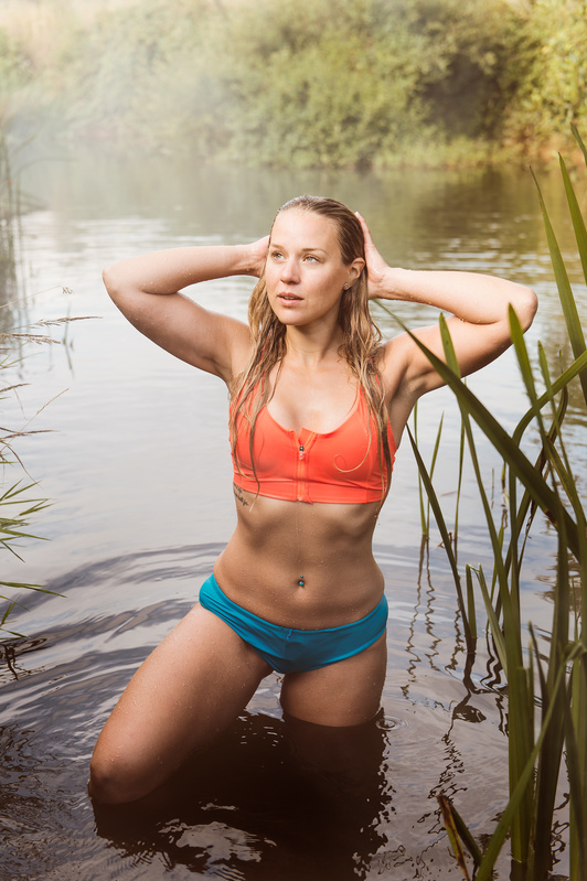 Sophie Wild Swimming by Tom Miles
