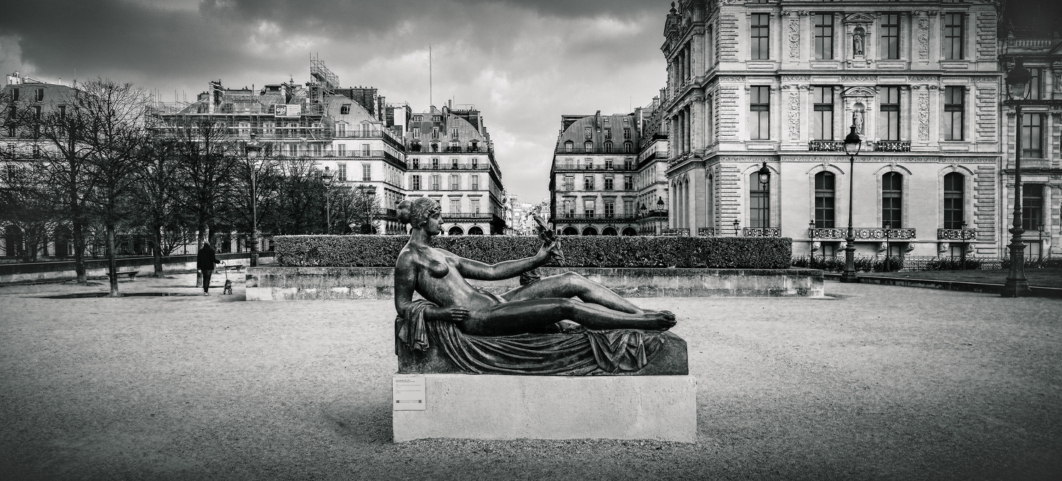 Cezanne Statue By Aristide Maillol by Darcy Brown