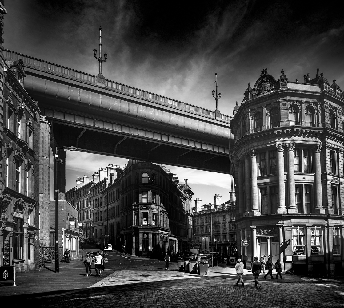 Newcastle in Black and White by Darcy Brown