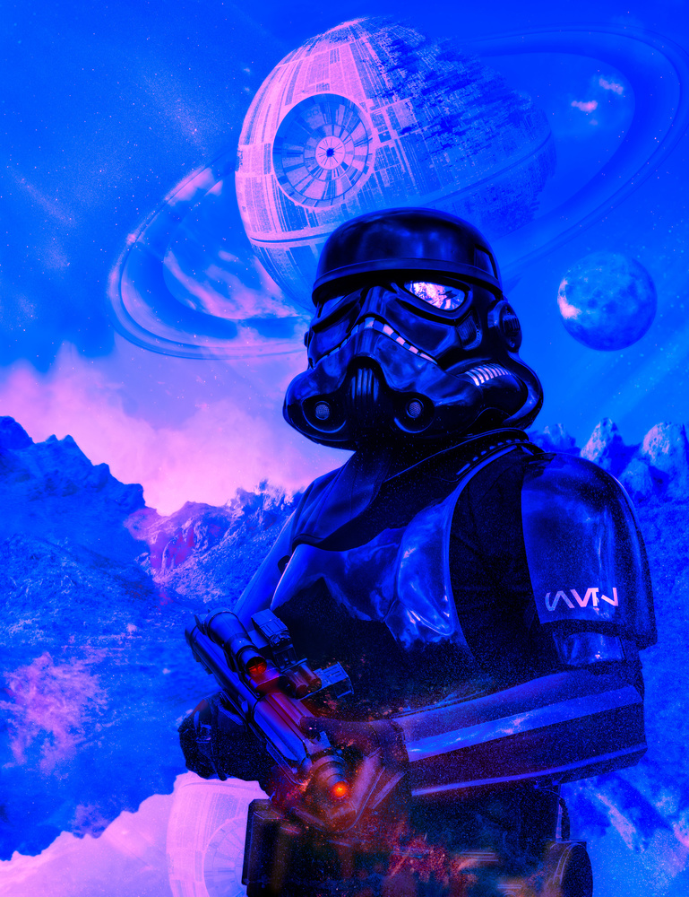 Shadow Trooper Skies by Darcy Brown