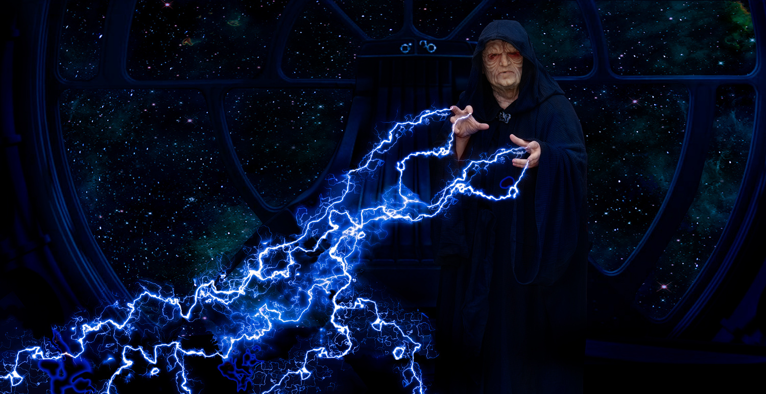 Emperor Palpatine by Darcy Brown