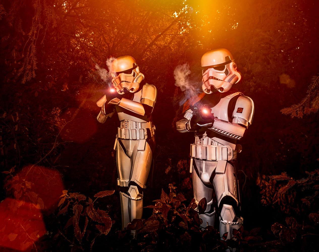 Stormtroopers having a blast by Darcy Brown