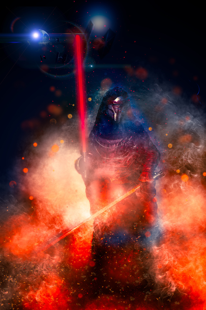 Darth Revan by Darcy Brown
