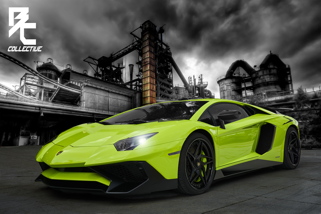 Aventador SV Industrial by Brandon Coots