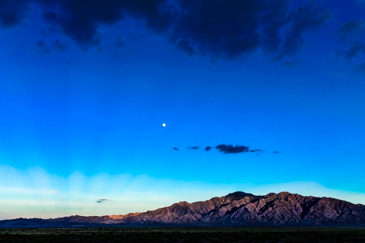 Moonrise, Nevada by Bill Gibson