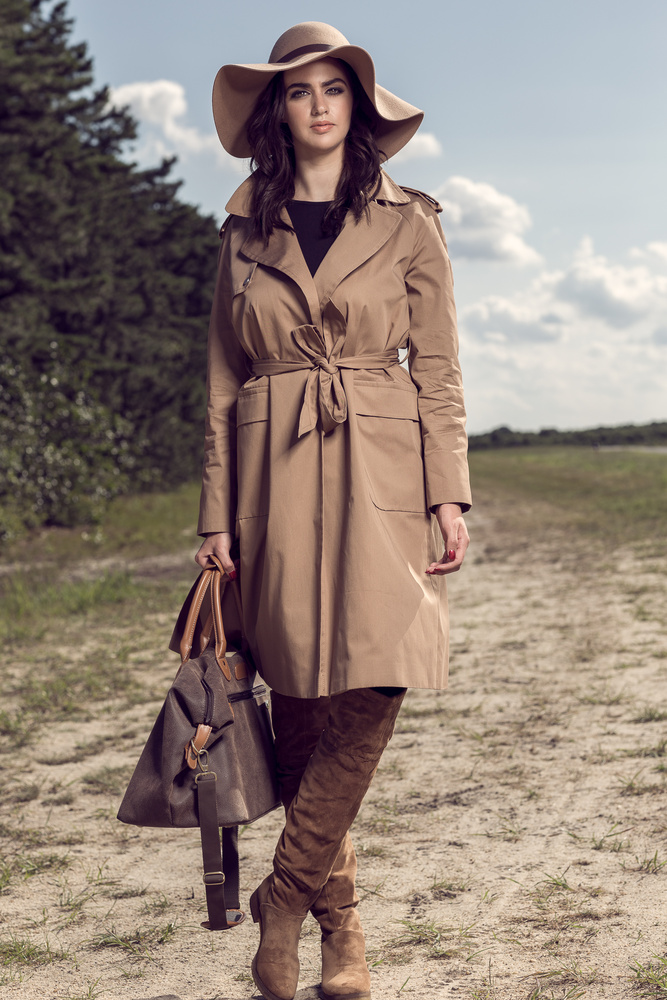 Trench n Sun  by Tuvy Lemberg