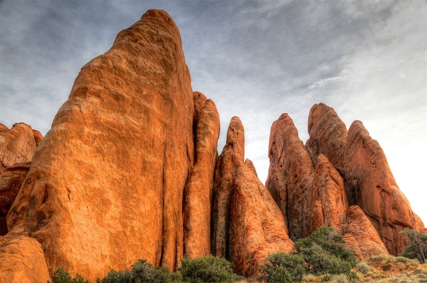 Pointed Rocks by Allen Cooper