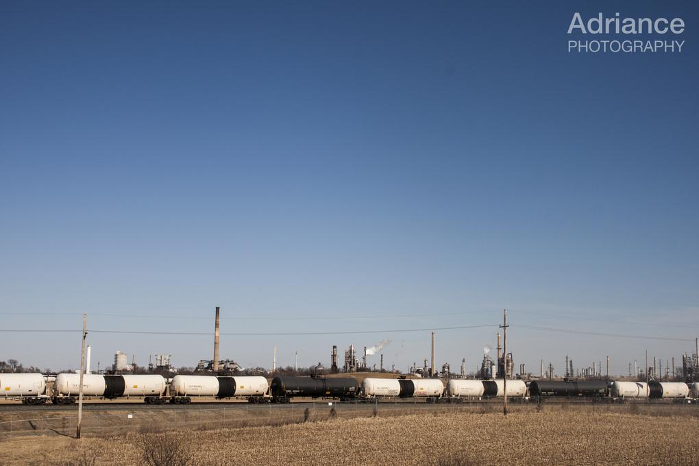 Train Yard by AJ Adriance