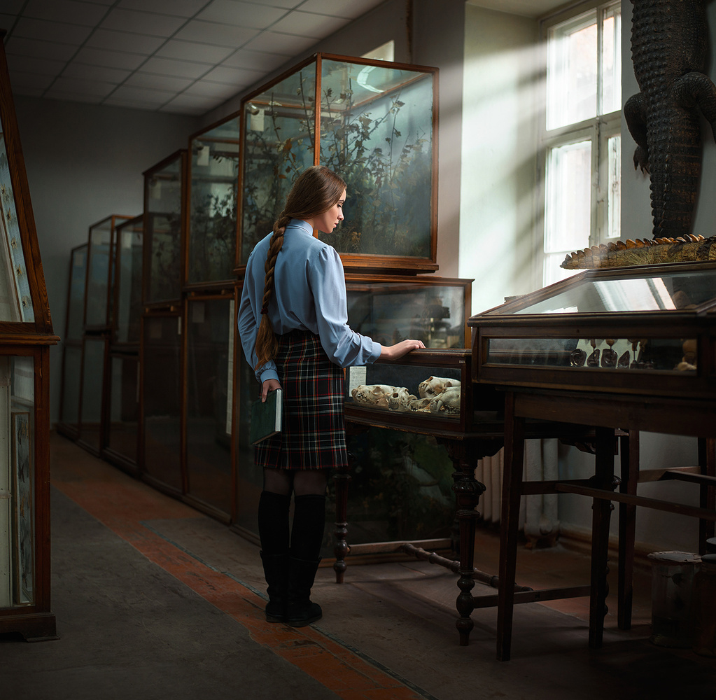 Museum worker by Dima Begma
