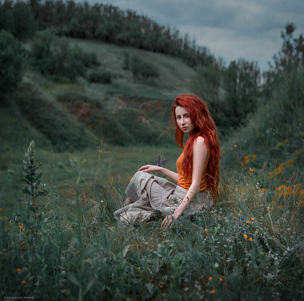 In the fields by Dima Begma