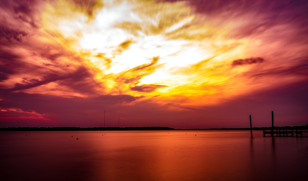 Sunset on the Deck by Alex Gutierrez