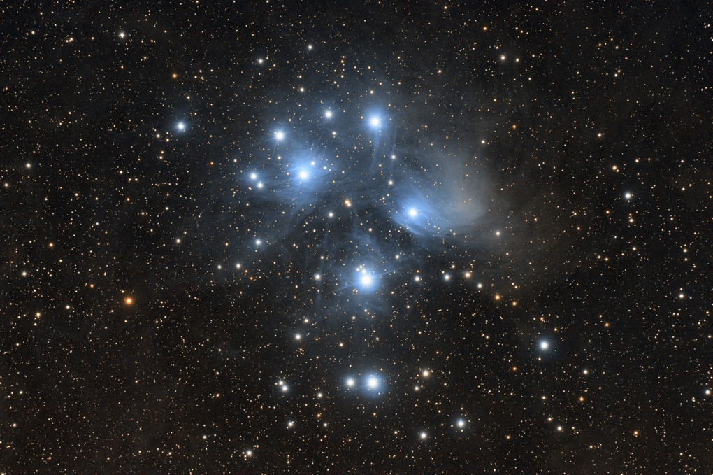 The Pleiades from the deserts of Arizona by Josh Borup