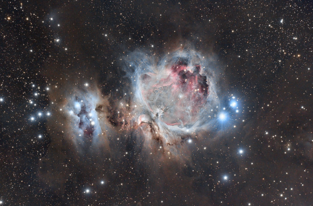 The Great Nebula in Orion taken from the Arizona desert by Josh Borup