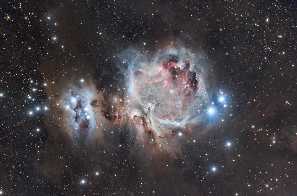 The Great Nebula in Orion taken from the Arizona desert by Josh Borup