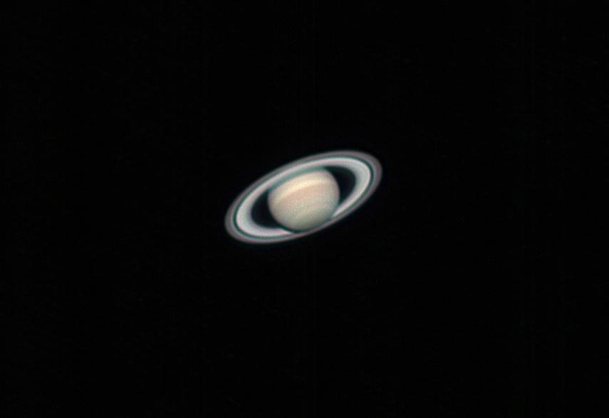 Saturn taken from my backyard in Mesa, AZ by Josh Borup