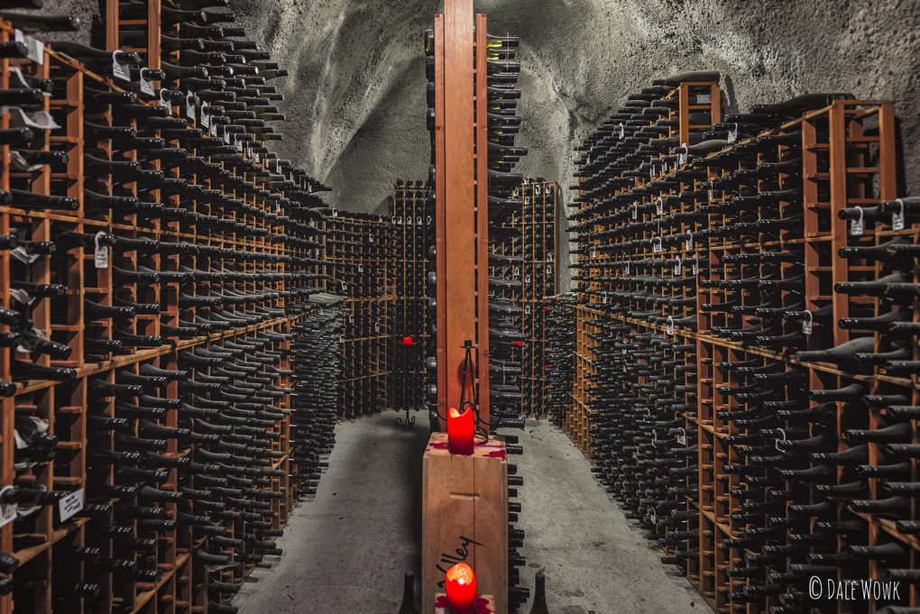 Vintage Cellar - Gibbston Valley Wines, New Zealand by Dale Wowk