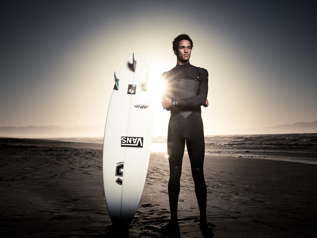 michael february. portraits of a surfer by tim gerges