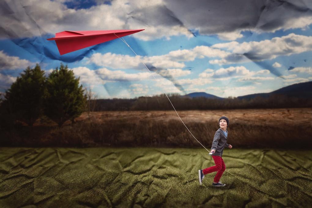 Wrinkle in Flight by Amanda Campbell