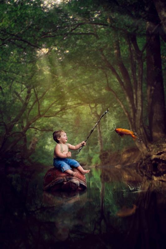Gone Fishin' by Amanda Campbell