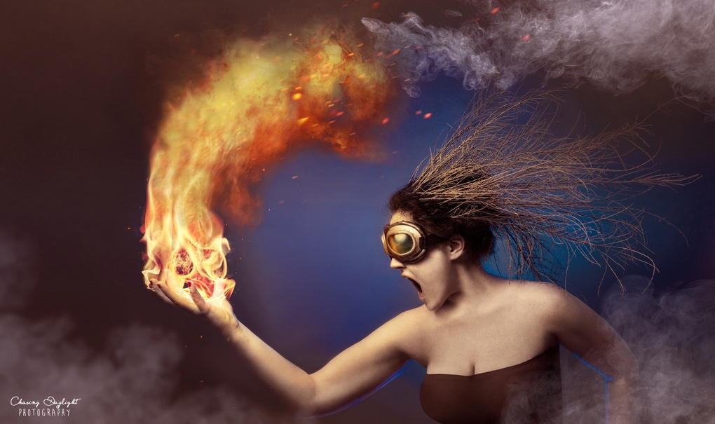 Flammable by Amanda Campbell