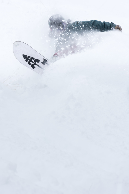 Riding the Powder by Jacob Bodkin
