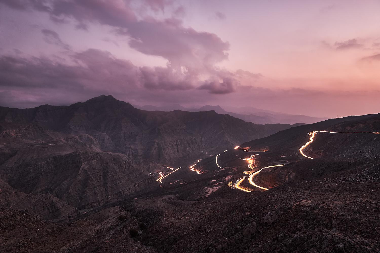 Magenta Sunset by Saadia Mahmud