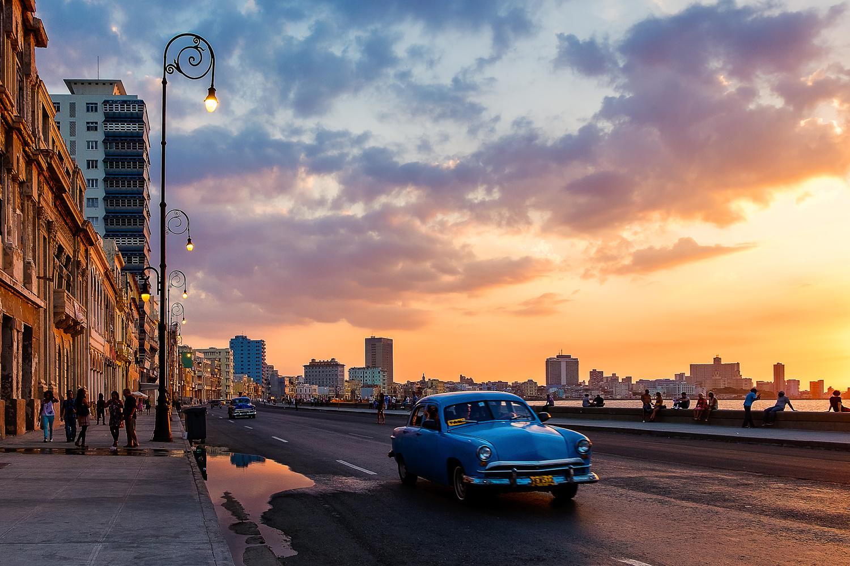 Sunset on the Malecon by Saadia Mahmud