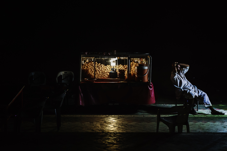 Night Vendor by Saadia Mahmud
