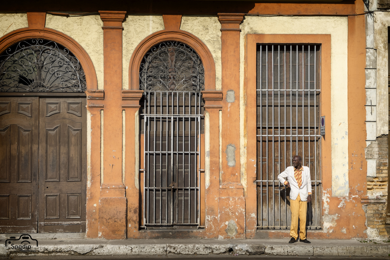 Yellow Tones in Havana by Saadia Mahmud