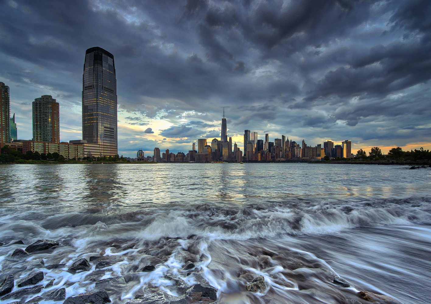 On the Hudson by Andrew Weiss